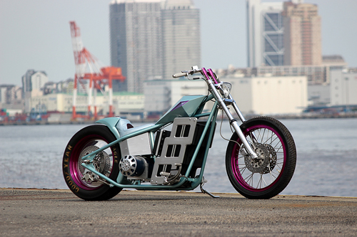 Choppers Forever Doc dao voi thiet ke cua tuong lai