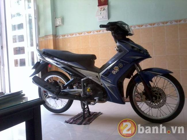 Exciter GP drag style don gian