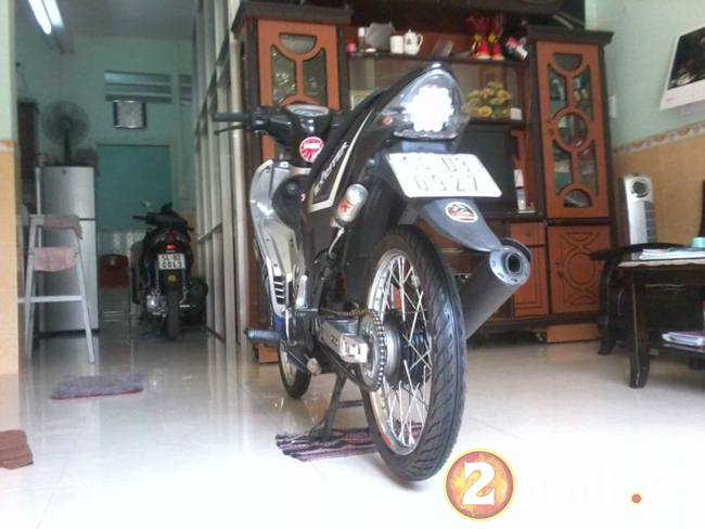 Exciter GP drag style don gian - 7