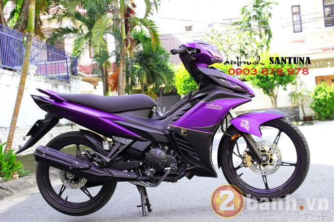 Exciter phoi mau tim lamborghini tai Air Brush Santuna - 3