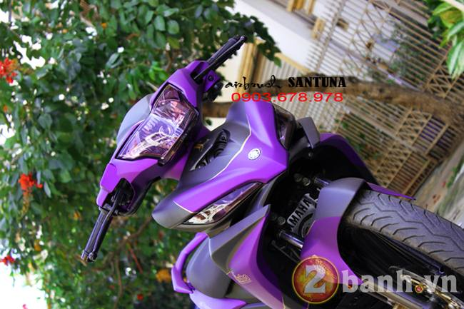 Exciter phoi mau tim lamborghini tai Air Brush Santuna - 6