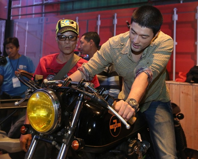 Johnny Tri Nguyen xuat hien tai su kien Born To Ride - 4