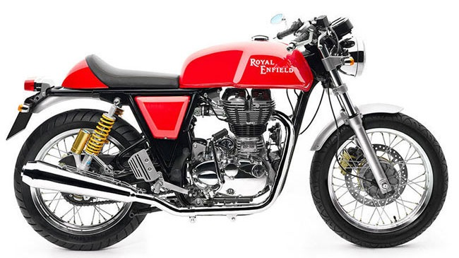 Royal Enfield Continental GT 2014 da co gia o thi truong An Do