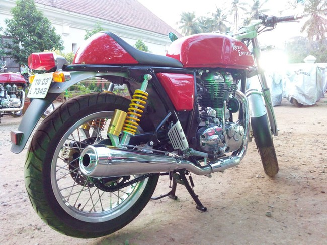 Royal Enfield Continental GT 2014 da co gia o thi truong An Do - 3