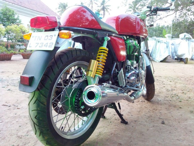 Royal Enfield Continental GT 2014 da co gia o thi truong An Do - 4