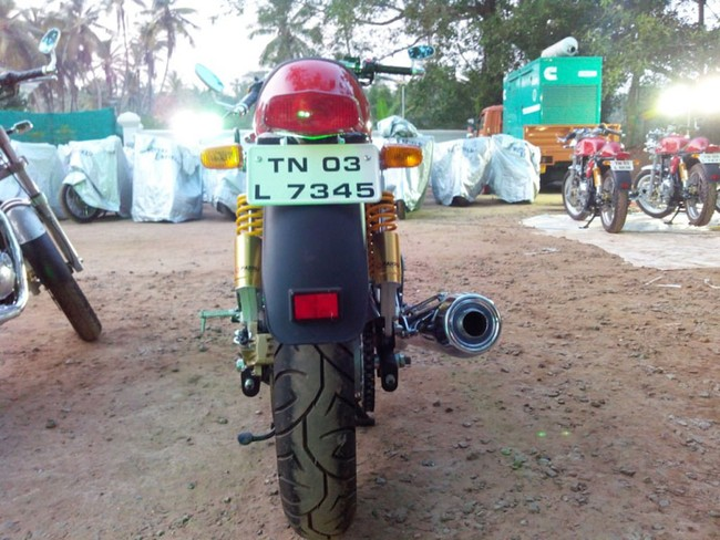 Royal Enfield Continental GT 2014 da co gia o thi truong An Do - 5