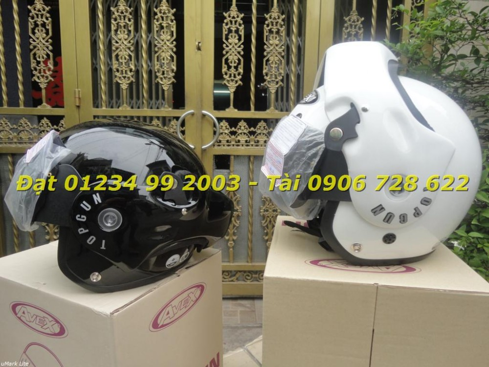 Mu bao hiem fullface lat cam 34 AVEX INDEX Space Crown LS2 YOHE cua Thai Lan - 5