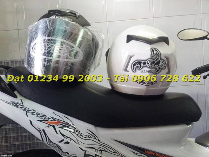 Mu bao hiem fullface lat cam 34 AVEX INDEX Space Crown LS2 YOHE cua Thai Lan - 9