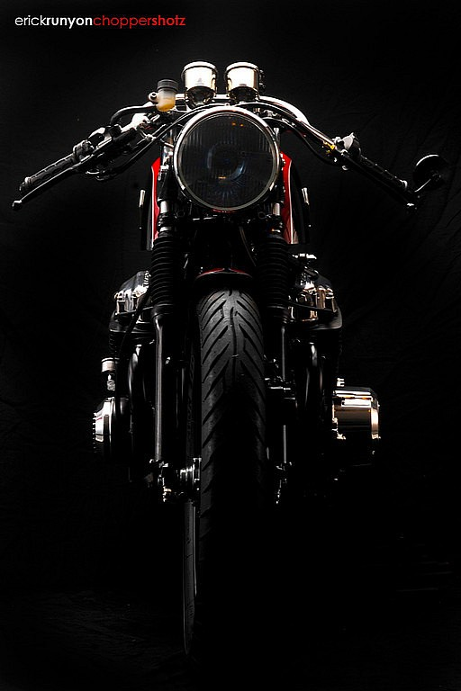 Cafe racer Honda Cb750 ly cafe dam chat - 9