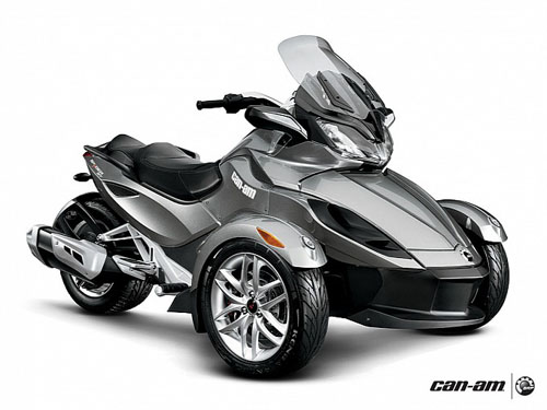 CanAm Spyder ST 2013 dat xat ra mieng