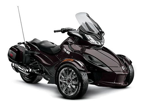 CanAm Spyder ST 2013 dat xat ra mieng - 2