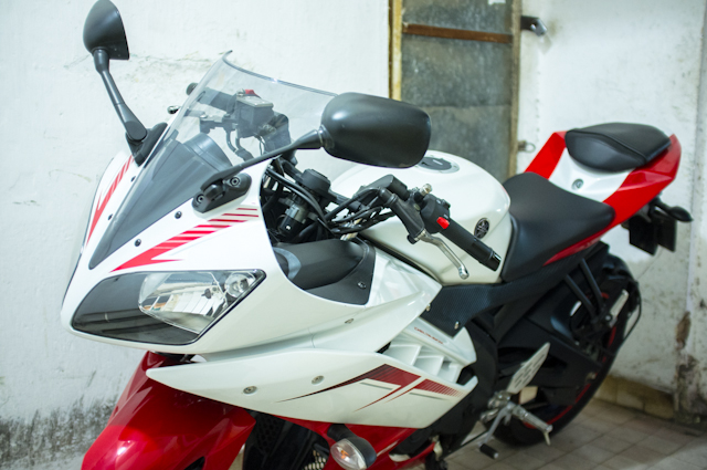 Can ban Yamaha YZFR15 Ver2013 Trang Do - 2