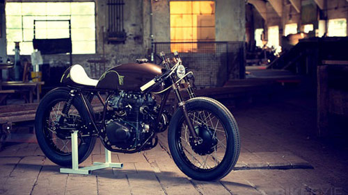 Cho nhung nguoi nghien cafe Honda CB250 Cafe Racer