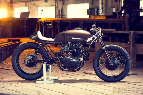 Cho nhung nguoi nghien cafe Honda CB250 Cafe Racer - 2