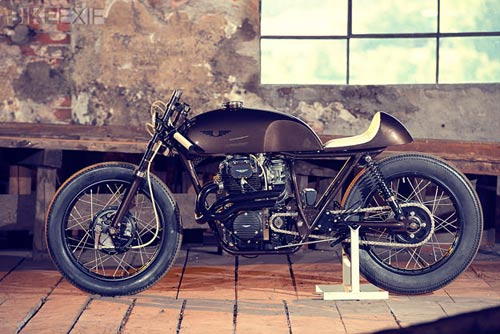 Cho nhung nguoi nghien cafe Honda CB250 Cafe Racer - 3