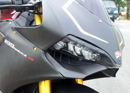 Ducati 1199 Panigale S ABS do carbon tien ty o Ha Noi - 7
