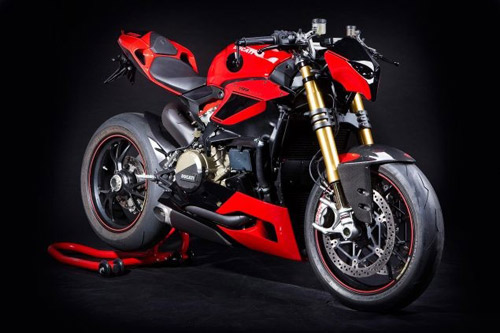 Ducati 1199 Panigale theo phong cach streetfighter