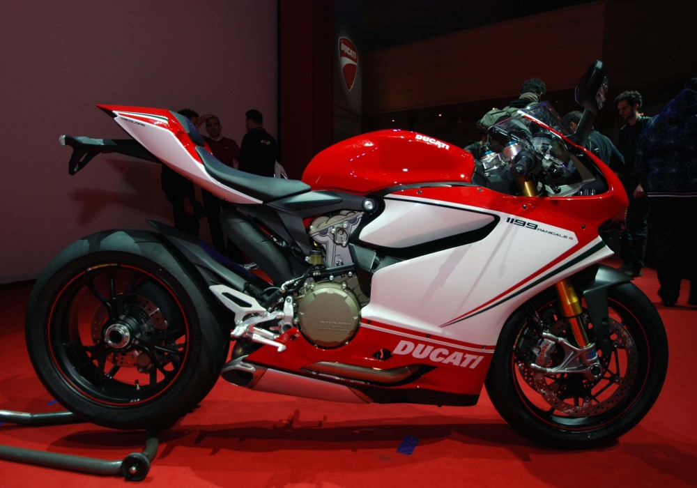 Ducati 1199 S Panigale Tricolore Co may sieu long moi con tim - 5