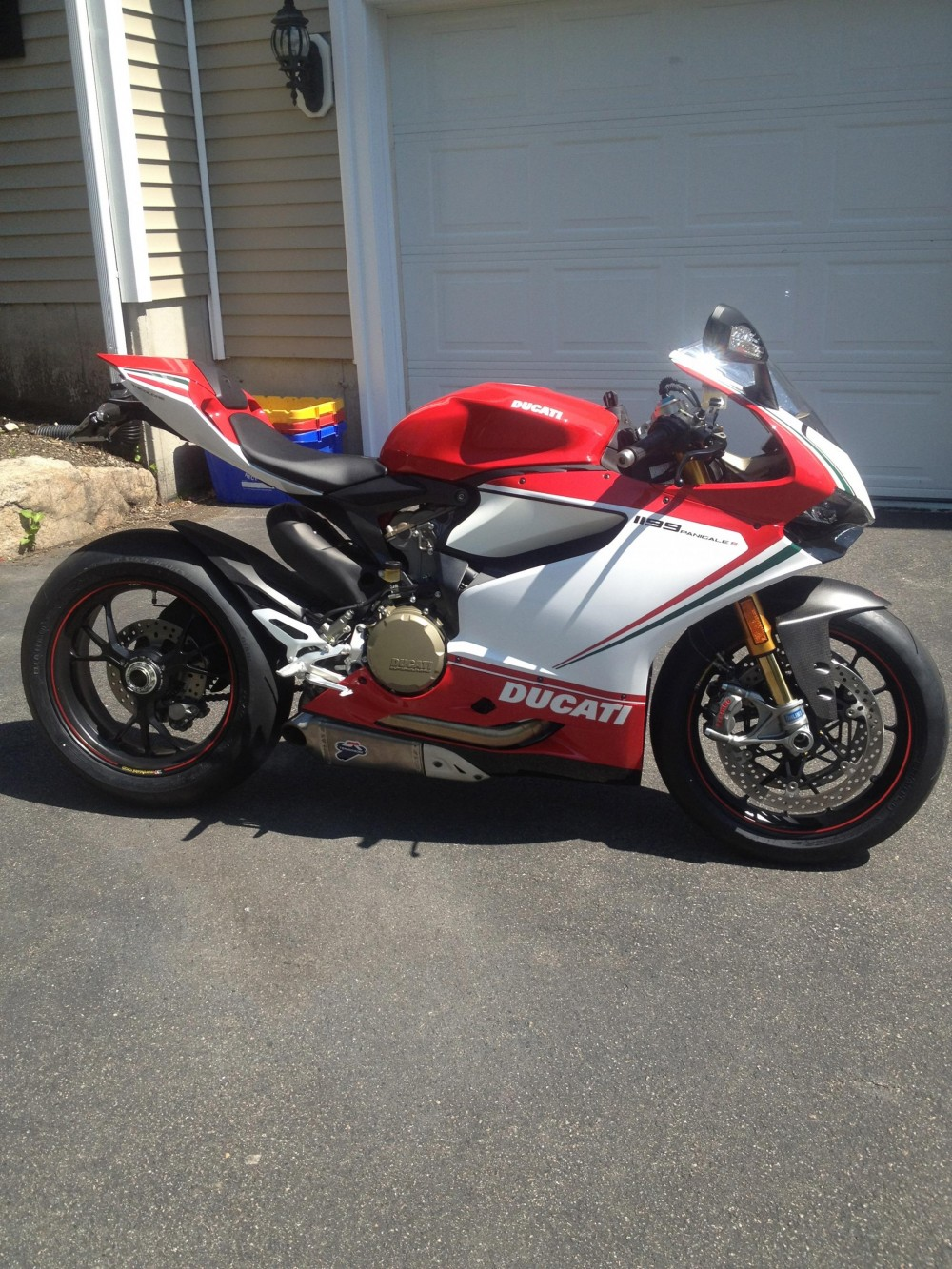 Ducati 1199 S Panigale Tricolore Co may sieu long moi con tim - 9