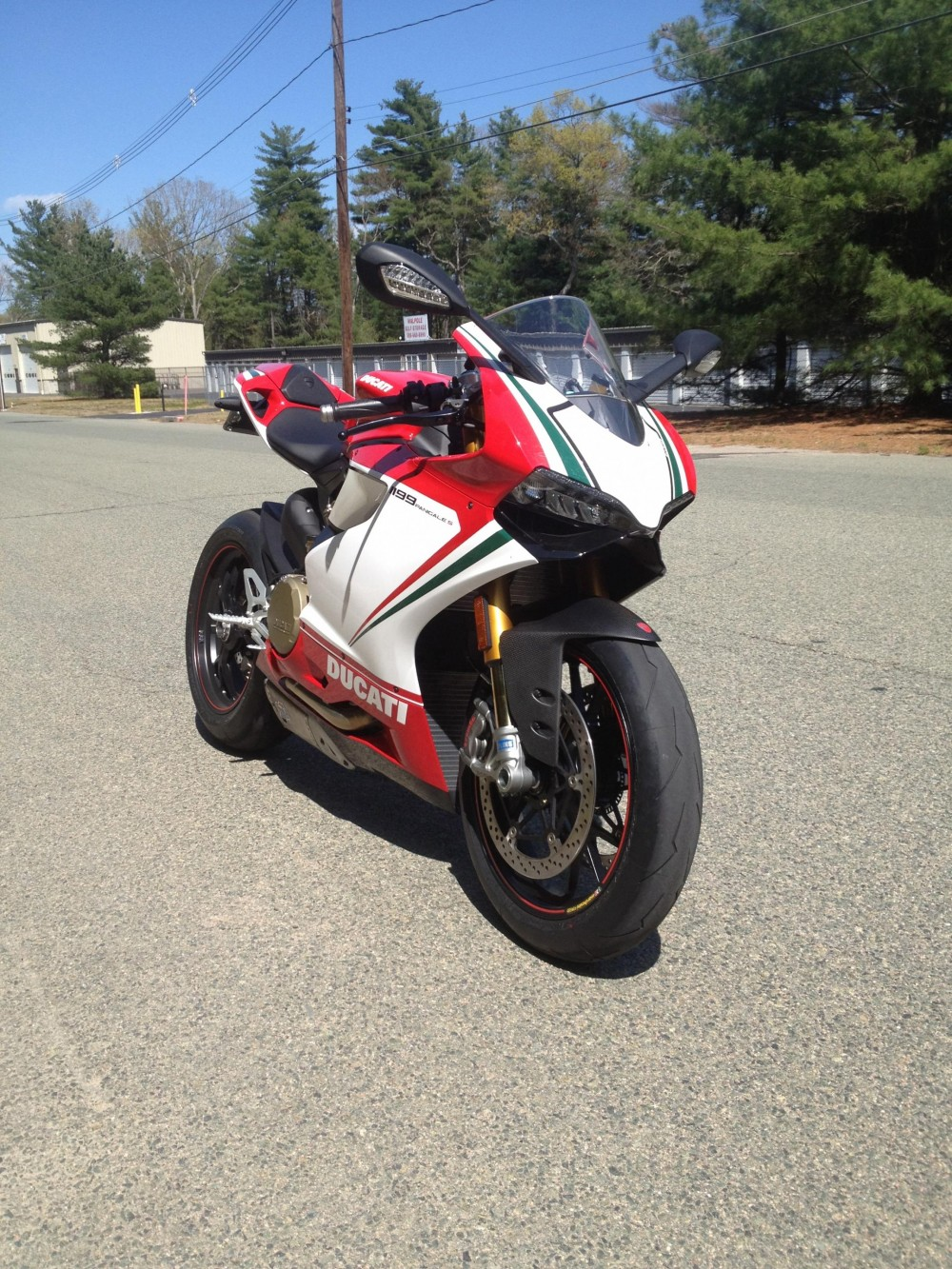 Ducati 1199 S Panigale Tricolore Co may sieu long moi con tim - 10