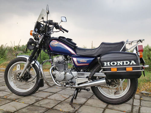 Honda Custom LA250 do phun xang dien tu