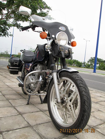 Honda Custom LA250 do phun xang dien tu - 3
