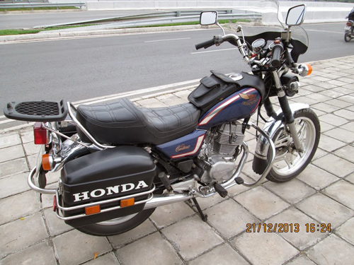 Honda Custom LA250 do phun xang dien tu - 4