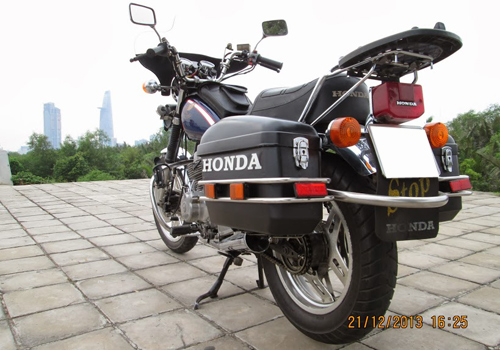 Honda Custom LA250 do phun xang dien tu - 6