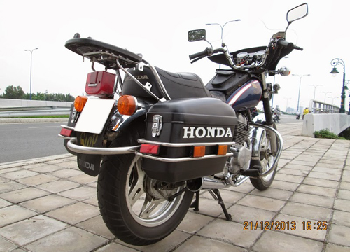 Honda Custom LA250 do phun xang dien tu - 7