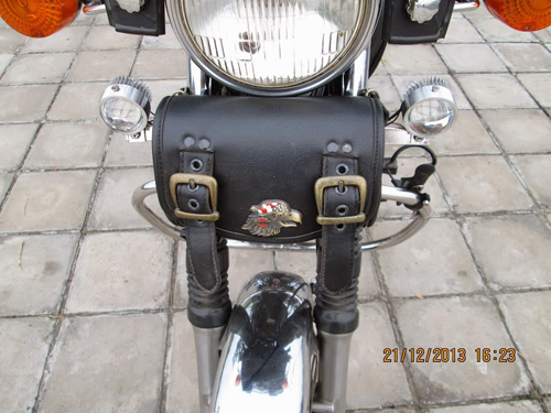 Honda Custom LA250 do phun xang dien tu - 8