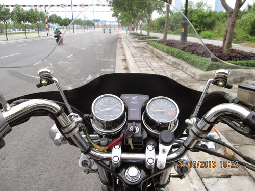 Honda Custom LA250 do phun xang dien tu - 9