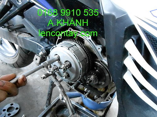 EXCITER Nang cap may len full 135cc 150cc 175cc 200cc lam may tu do va noi do cho exciter - 14