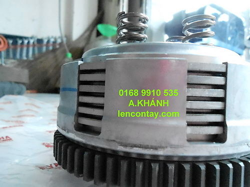 EXCITER Nang cap may len full 135cc 150cc 175cc 200cc lam may tu do va noi do cho exciter - 13