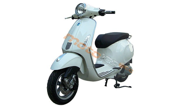 Mau xe Vespa bi an tai Viet Nam co the la Primavera 125 ie 3V - 3