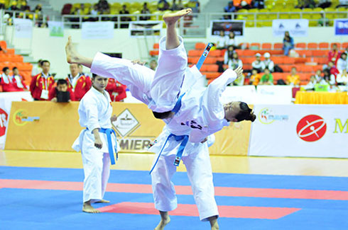 Nuoc to chuc Sea Games ma lai choi ban den the