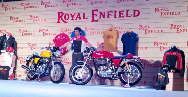 Royal Enfield Continental GT 2014 da co gia o thi truong An Do - 2