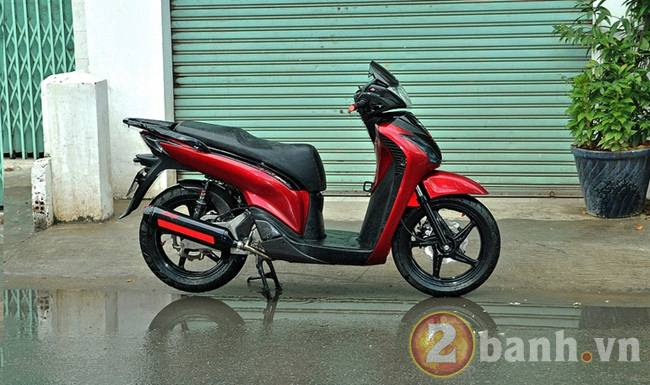 SH150i do Sporty don gian tai xXx paint shop - 4