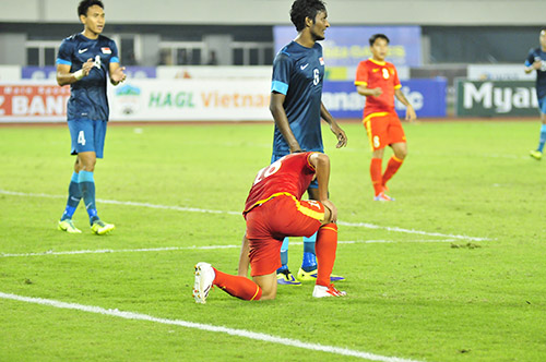 That vong U23 Viet Nam 01 U23 Singapore - 2