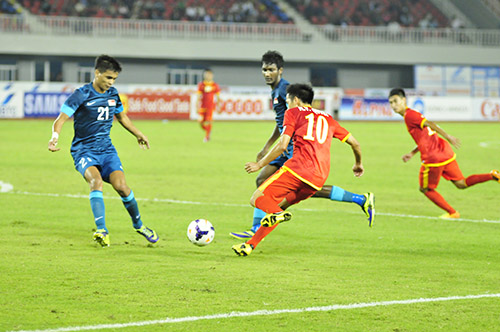 That vong U23 Viet Nam 01 U23 Singapore - 4