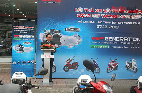 Voi eSP Scooter khong chi la xe thanh thi