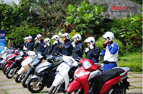 Voi eSP Scooter khong chi la xe thanh thi - 3