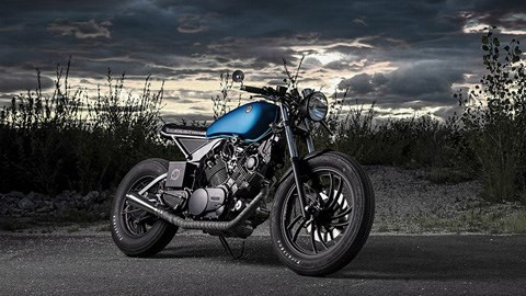 Yamaha XV750 do cafe racer