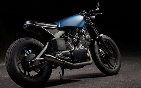 Yamaha XV750 do cafe racer - 7