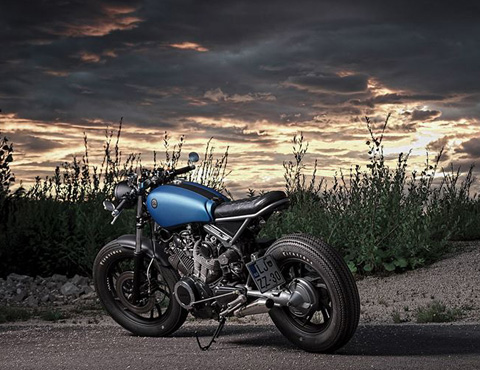 Yamaha XV750 do cafe racer - 8