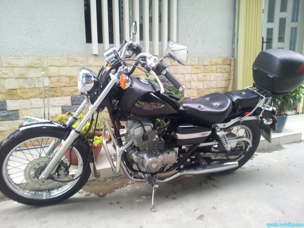 Can ban Honda Rebel My date 98125cc mau den may con zin va rat moi - 2