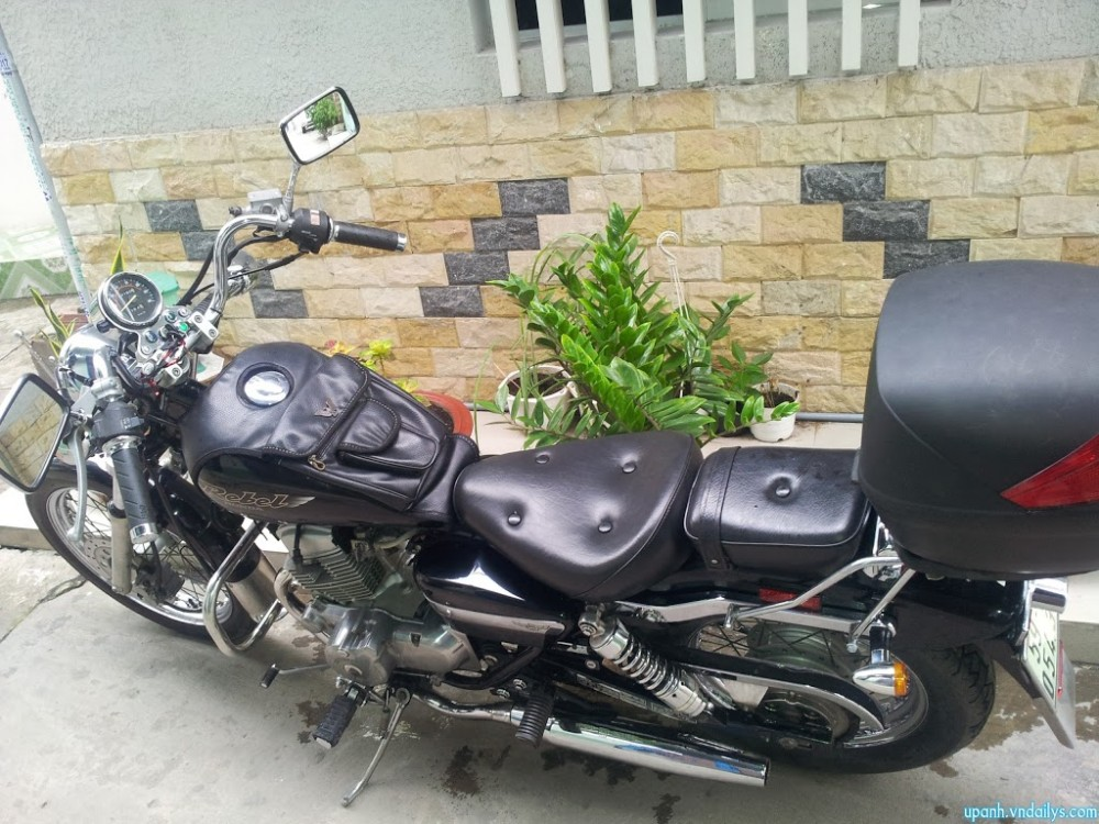 Can ban Honda Rebel My date 98125cc mau den may con zin va rat moi - 3