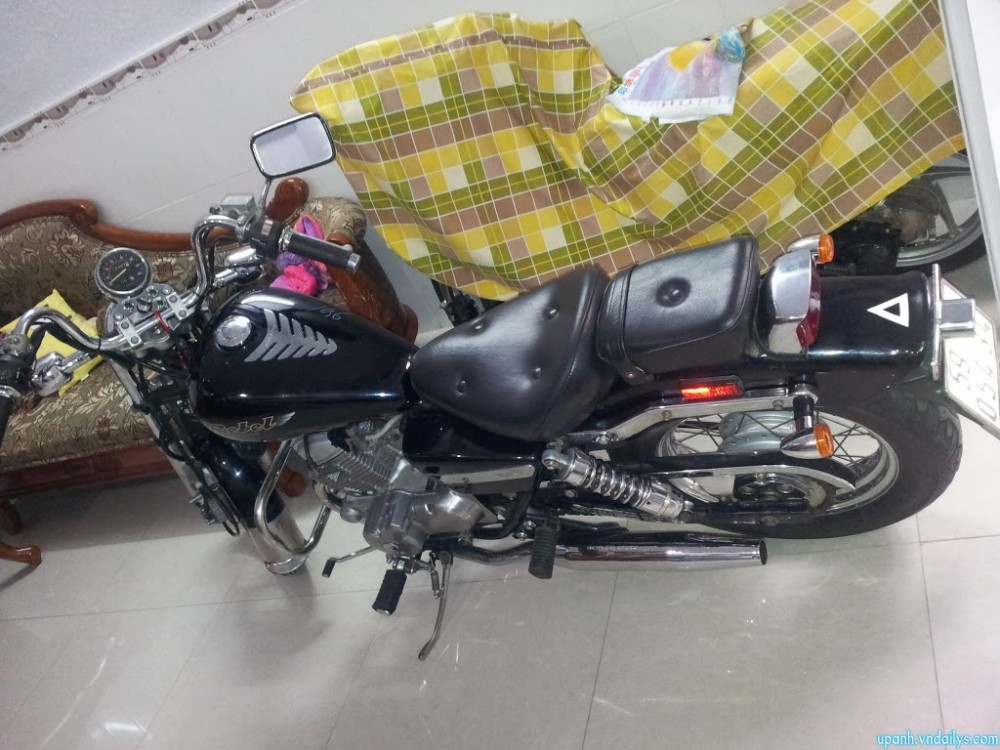 Can ban Honda Rebel My date 98125cc mau den may con zin va rat moi - 4