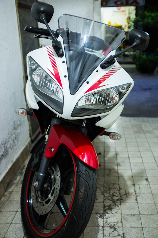 Can ban Yamaha YZFR15 Ver2013 Trang Do