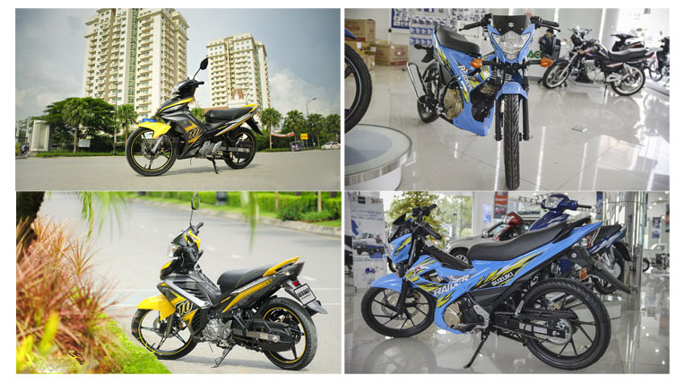 Doi Yamaha Exciter lay Suzuki Raider co nen khong