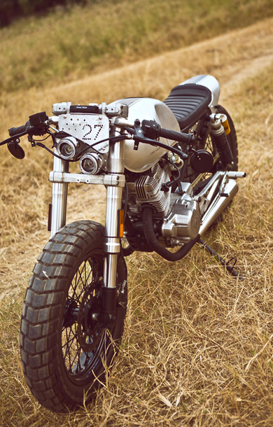 Honda CB125T do cafe racer tai Viet Nam - 5